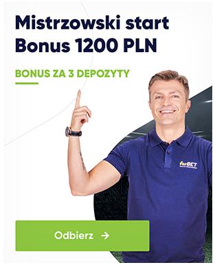 bonusy w forbet